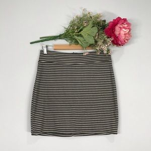 BDG | Striped Stretch Mini Skirt SZ L